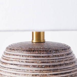 Threshold Accents - Studio McGee Threshold ceramic table lamp tan